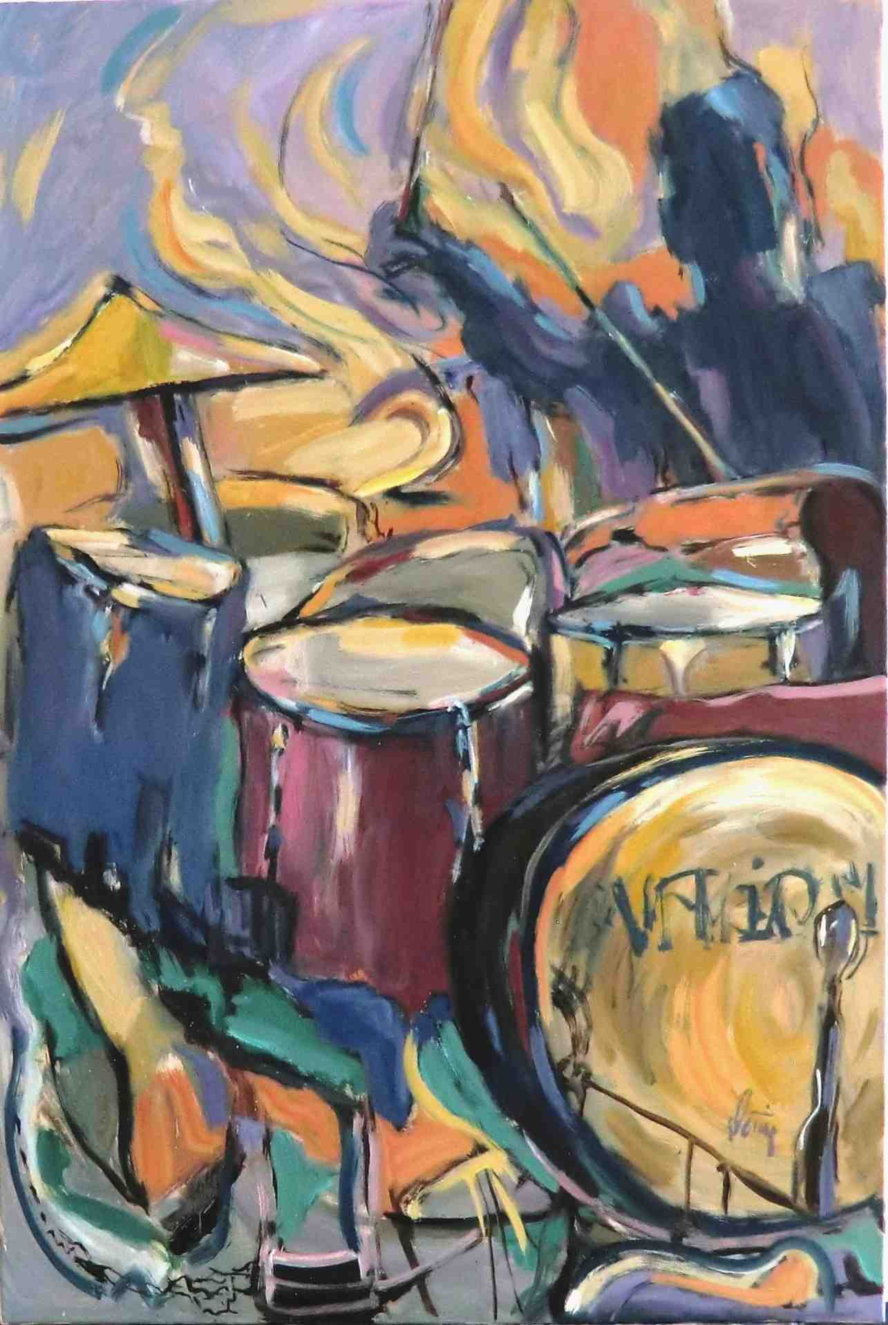Drums – remember the hours of dancing and loving
