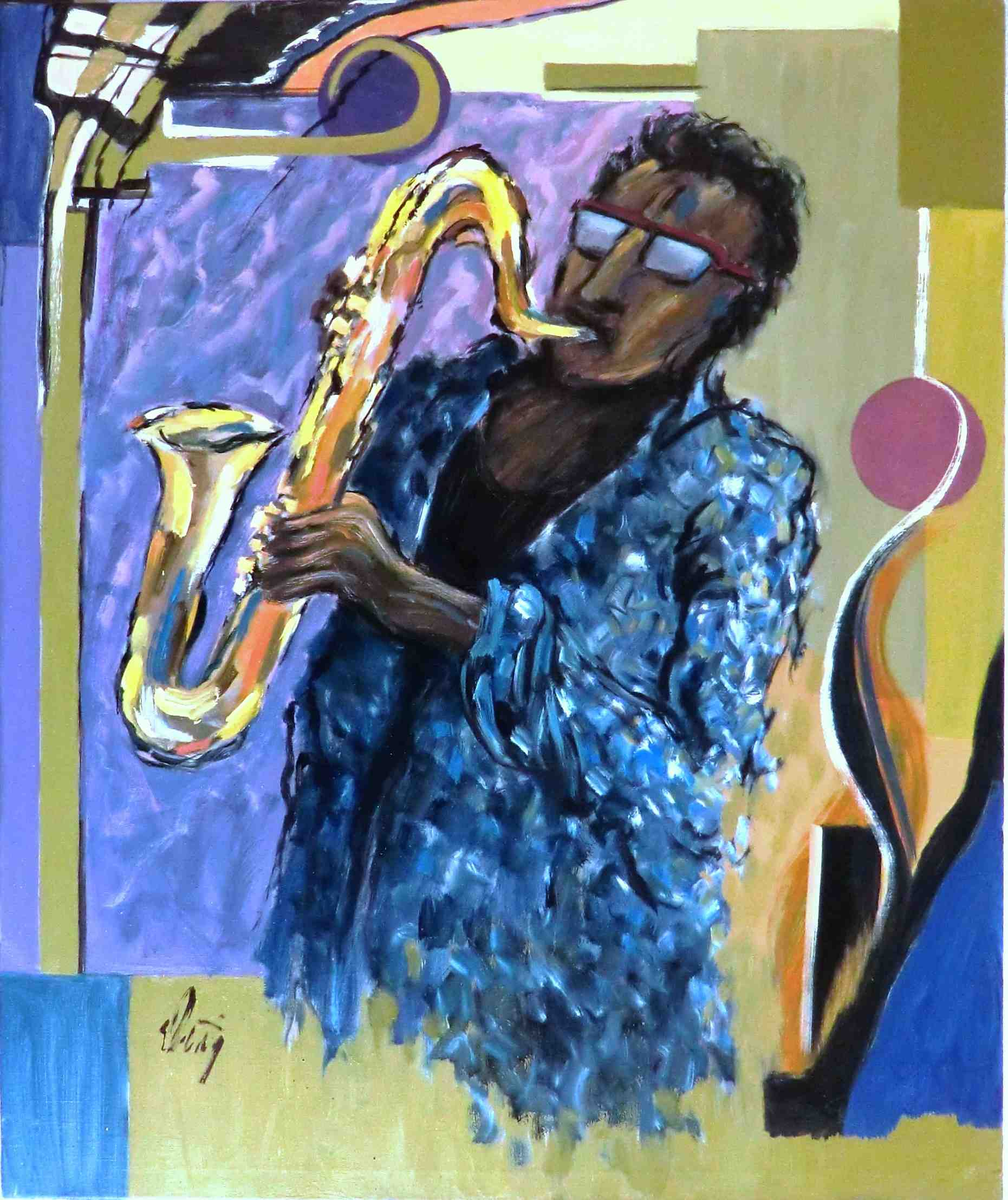 Saxophone – remember the sounds of New Orleans